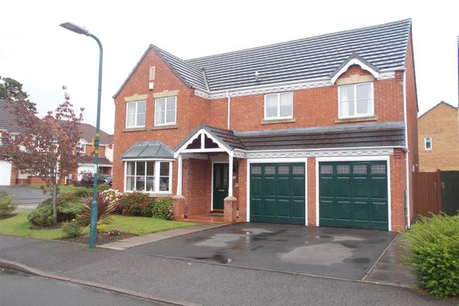 Thumbnail Detached house for sale in Napoleon Drive, Bicton Heath, Shrewsbury