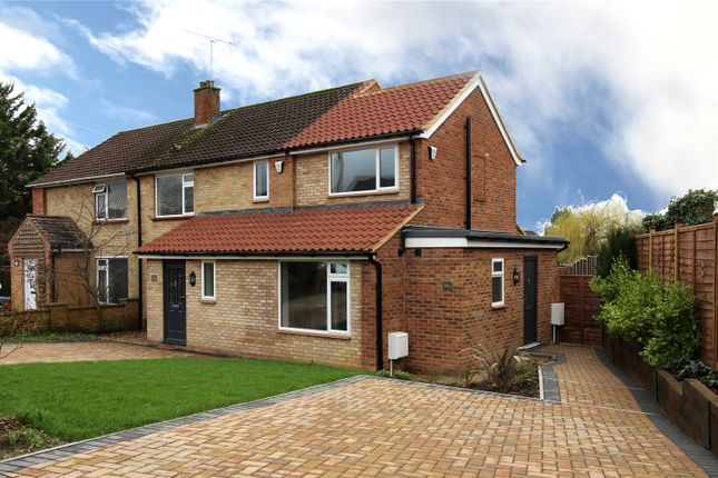 Thumbnail End terrace house for sale in Middlemoor Road, Frimley, Camberley, Surrey