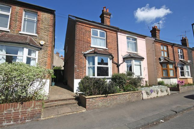 Thumbnail Semi-detached house for sale in Frenches Road, Redhill