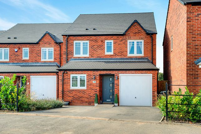 Thumbnail Detached house for sale in Greendale Road, Nuneaton
