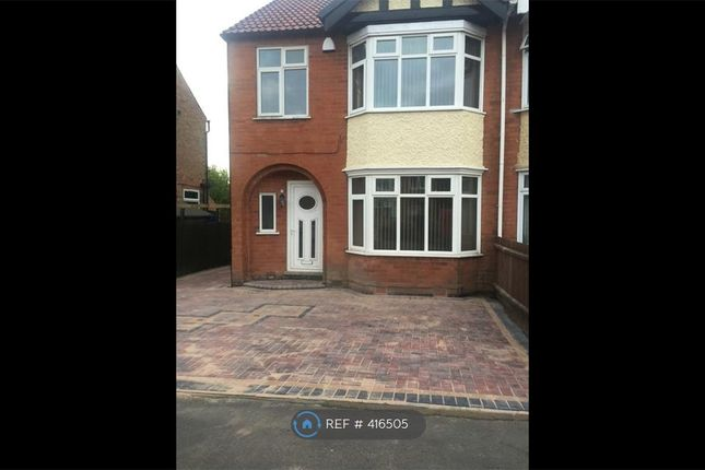 Thumbnail Semi-detached house to rent in Charlbury Road, Nottingham