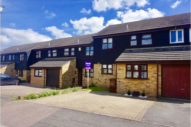 Thumbnail Terraced house for sale in Heritage Drive, Gillingham