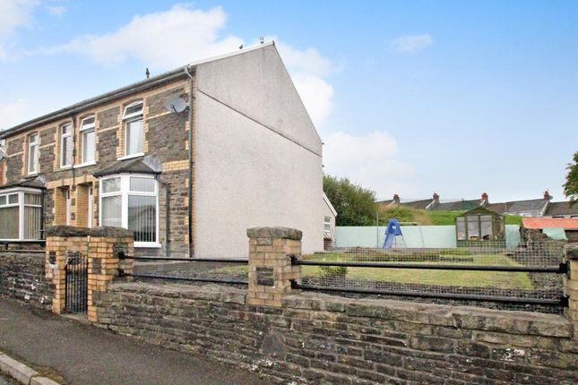 Thumbnail Semi-detached house for sale in Maes-Y-Graig Street, Gilfach, Bargoed, Caerphilly Borough