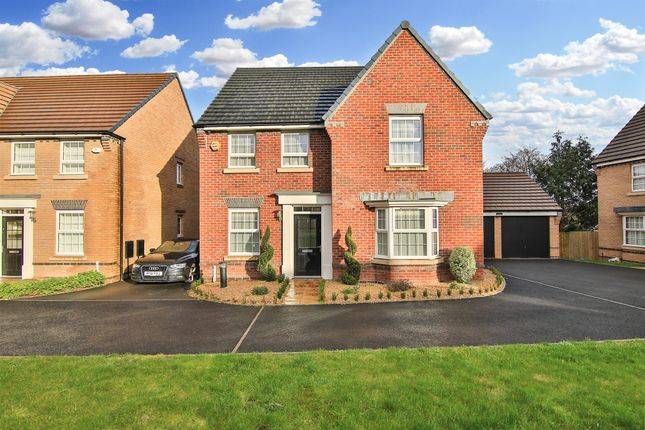 Thumbnail Detached house for sale in Ty'n-Y-Gollen Court, St. Mellons, Cardiff