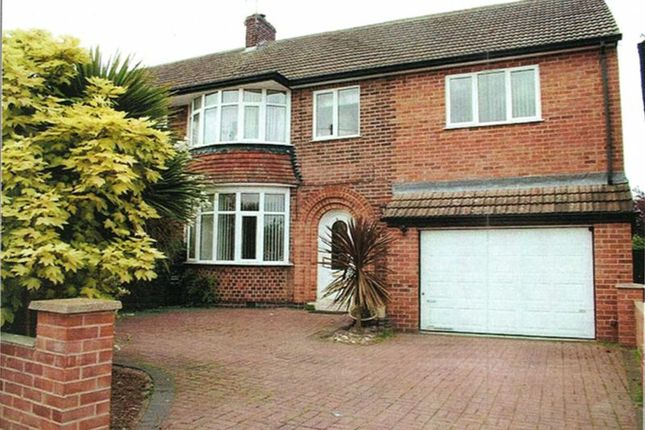 Thumbnail Semi-detached house for sale in Silverton Road, Loughborough