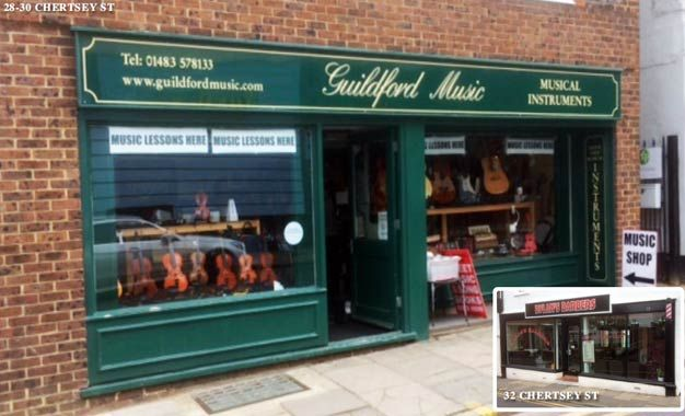 Thumbnail Retail premises to let in 28-30 Chertsey Street, Guildford Surrey