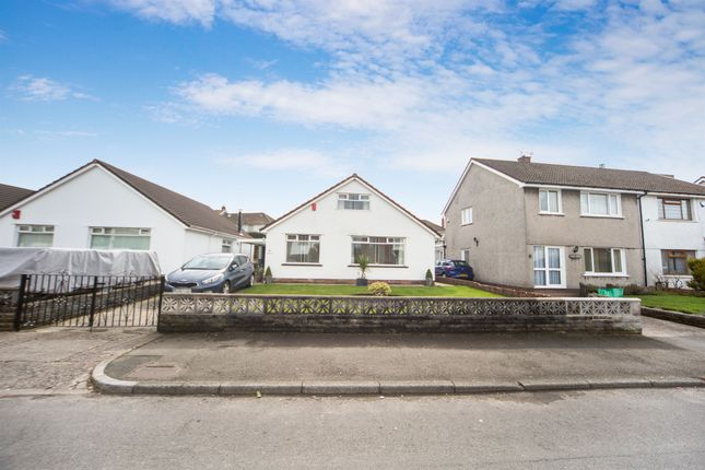 Thumbnail Detached bungalow for sale in Brynau Road, Caerphilly