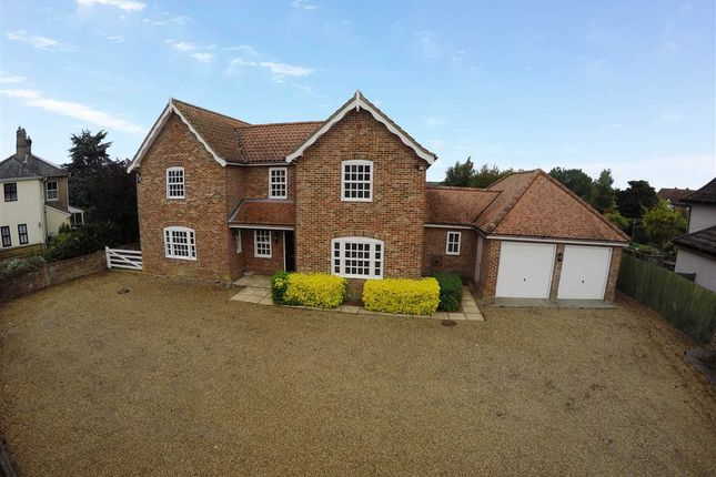 Thumbnail Detached house for sale in Woodbridge Road, Tunstall, Woodbridge, Suffolk