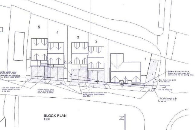 Site Plan of California Road, California, Great Yarmouth NR29