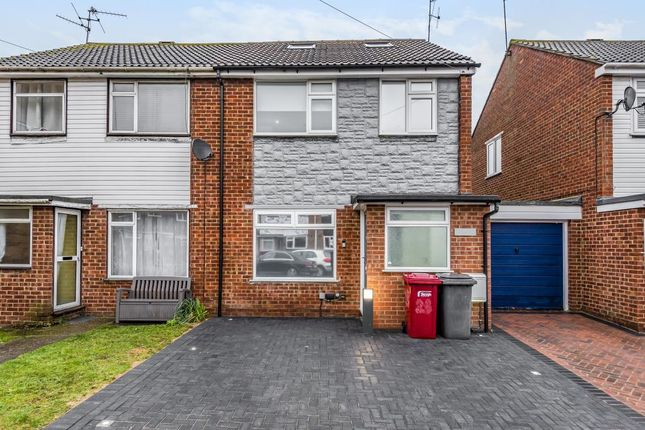 Thumbnail Semi-detached house to rent in Slough, Berkshire