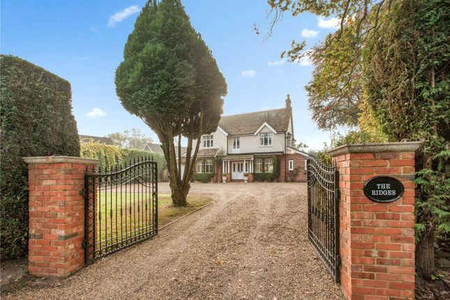 5 bed detached house for sale in Chandlers Lane, Yateley, Hampshire