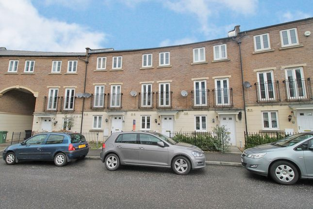 Thumbnail Town house to rent in Fleming Way, St. Leonards, Exeter