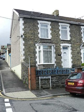 Thumbnail End terrace house for sale in Kenry Street, Tonypandy