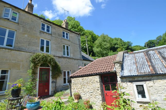 Thumbnail End terrace house for sale in Rock Terrace, Ruscombe, Stroud, Gloucestershire