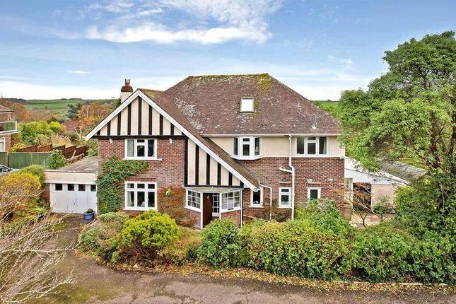 Thumbnail Detached house for sale in Treloyan, Douglas Avenue, Exmouth