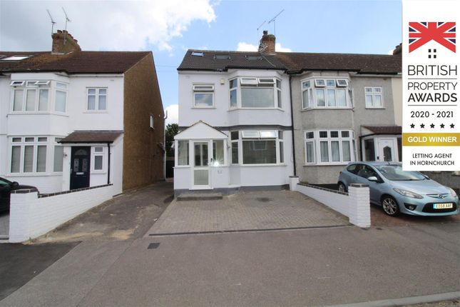 Thumbnail End terrace house to rent in Rainsford Way, Hornchurch
