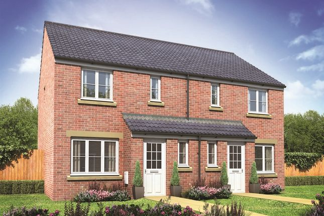 "Thumbnail Terraced house for sale in ""The Henley"" at Darlington Road, Northallerton"