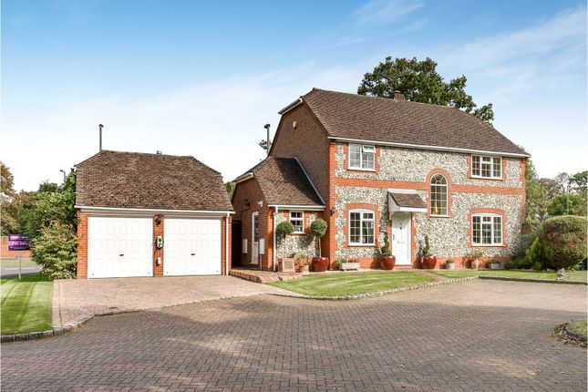 Thumbnail Detached house for sale in Regent Court, Bagshot