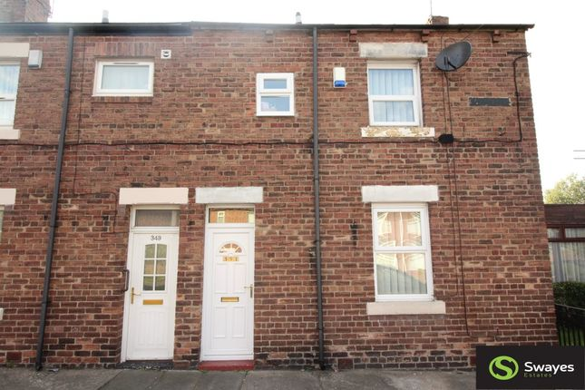 Thumbnail Terraced house to rent in Kenton Road, Gosforth, Newcastle Upon Tyne