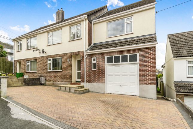 Thumbnail Semi-detached house for sale in Maidenwell Road, Plympton, Plymouth