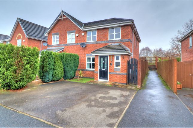 3 bed semi-detached house for sale in Fairman Drive, Hindley, Wigan WN2