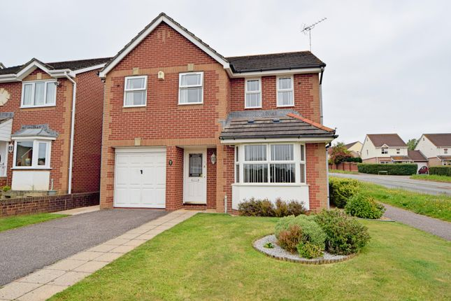 Thumbnail Detached house for sale in Nightingale Lawns, Culllompton