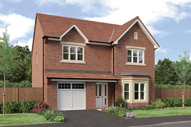 "Thumbnail Detached house for sale in ""Crompton"" at Radbourne Lane, Derby"
