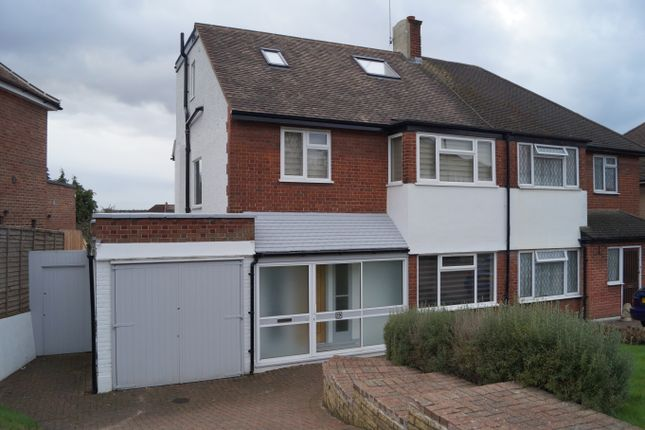 Thumbnail Semi-detached house to rent in Chandos Avenue, Southgate