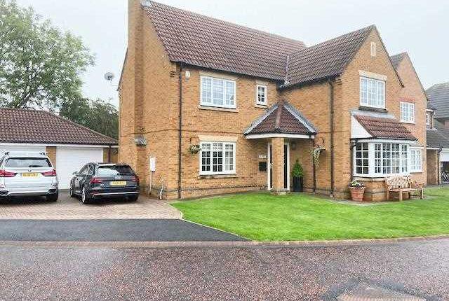 Thumbnail Detached house for sale in Lavendon Close, Southfield Gardens, Cramlington