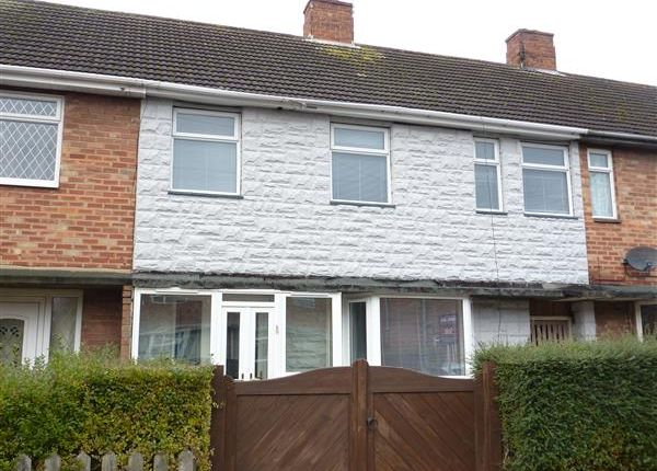 Thumbnail Terraced house to rent in Caistor Drive, Grimsby