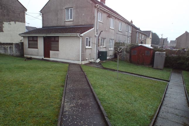 2 bed semi-detached house for sale in Caeglas, Cross Hands, Llanelli