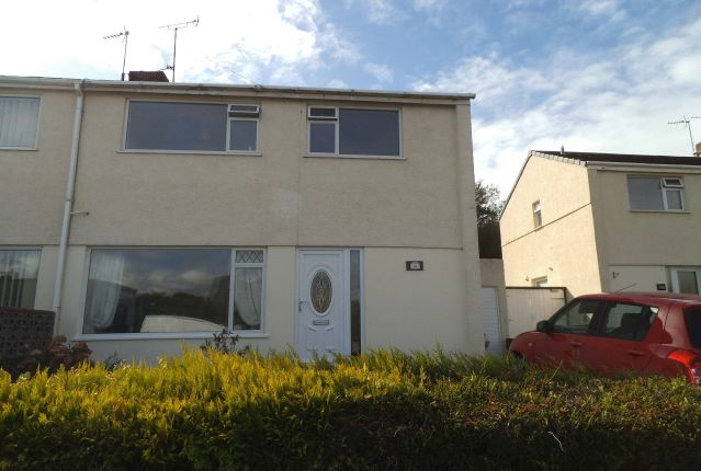 Thumbnail Semi-detached house to rent in Heol Y Bardd, Bridgend