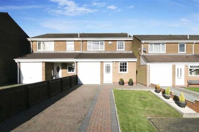 Thumbnail Semi-detached house for sale in Coverdale, Wallsend, Newcastle Upon Tyne