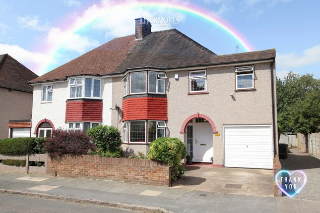 Thumbnail Semi-detached house for sale in Roseberry Gardens, West Dartford, Kent