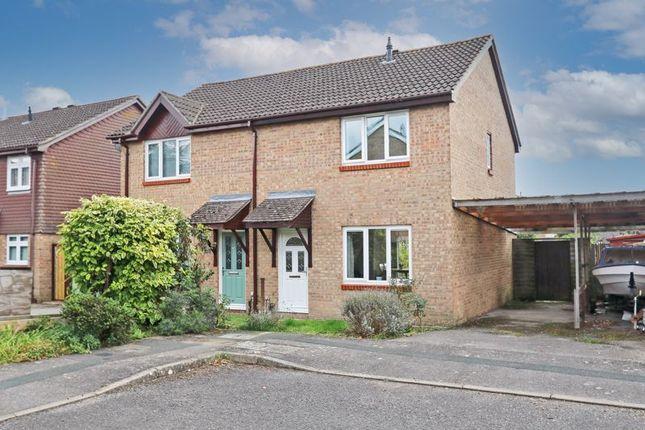 3 bed semi-detached house for sale in Yarrow Way, Locks Heath, Southampton SO31