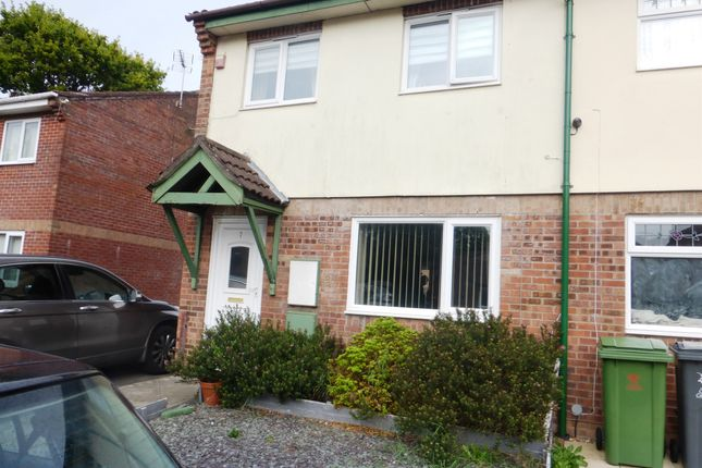 Thumbnail Semi-detached house for sale in Dummer Close, St. Mellons, Cardiff