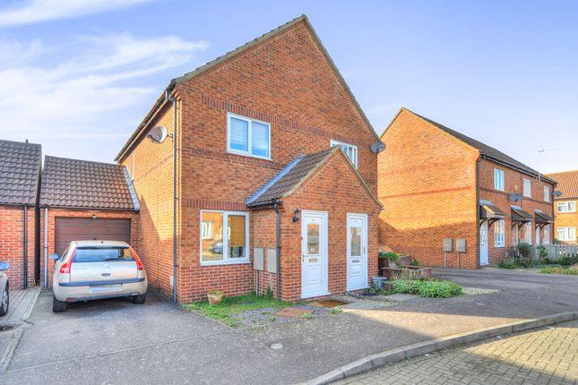 Thumbnail Semi-detached house for sale in Tredington Grove, Caldecotte, Milton Keynes