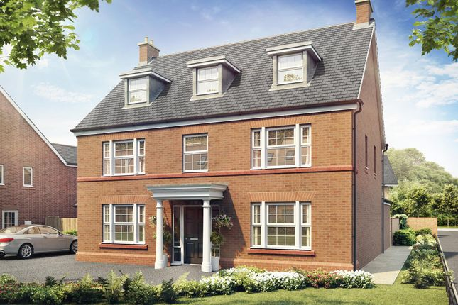 "Thumbnail Detached house for sale in ""Bramall"" at Adlington Road, Wilmslow"