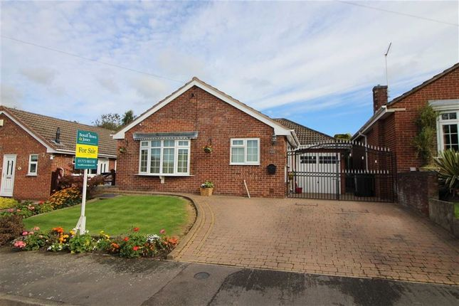 Thumbnail Detached bungalow for sale in Hunter Drive, Kilburn, Derbyshire