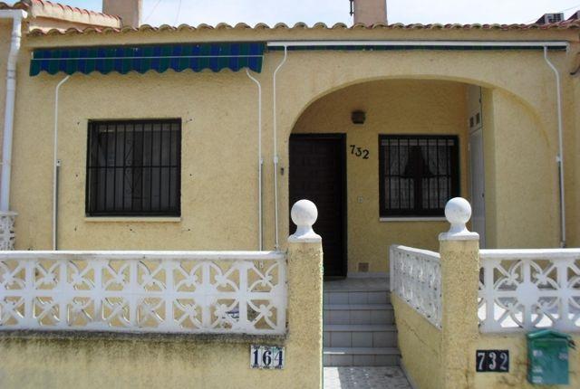 Thumbnail Terraced bungalow for sale in Urbanización La Marina, San Fulgencio, Alicante, Valencia, Spain