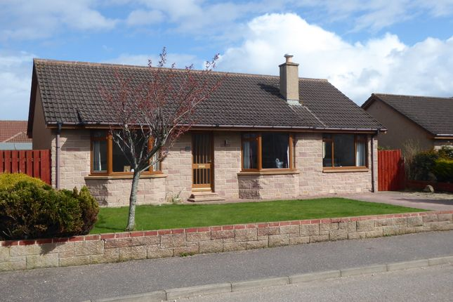 Thumbnail Detached bungalow for sale in Lodge View, Hopeman