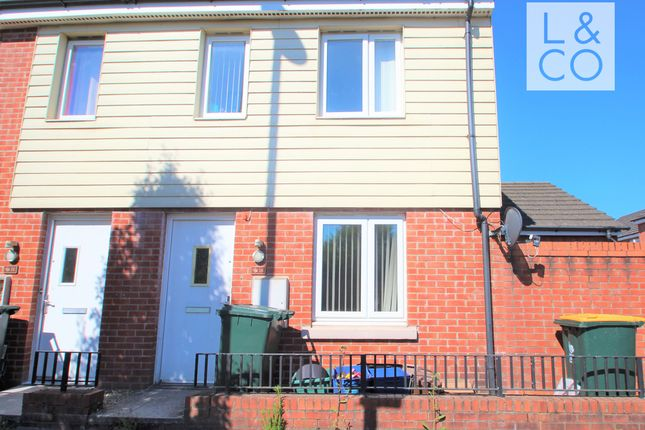 Thumbnail Terraced house to rent in East Dock Road, Newport