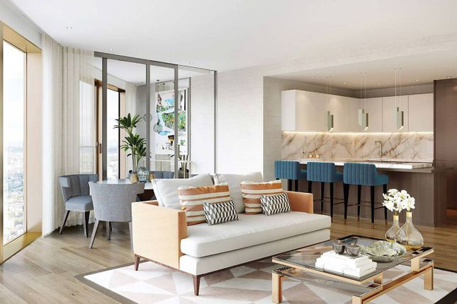 Thumbnail Flat for sale in Spire, Canary Wharf