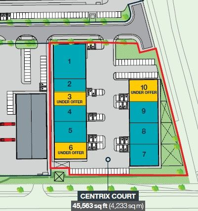 Thumbnail Industrial for sale in Phoenix Parkway, Corby, Northants