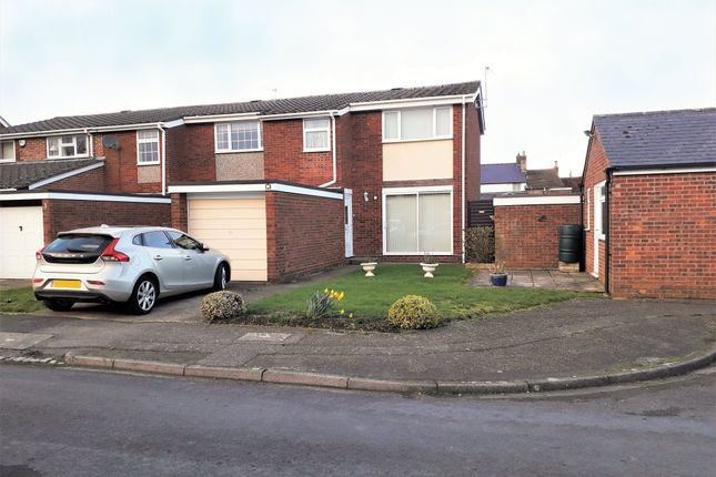 Thumbnail End terrace house for sale in Mander Close, Toddington