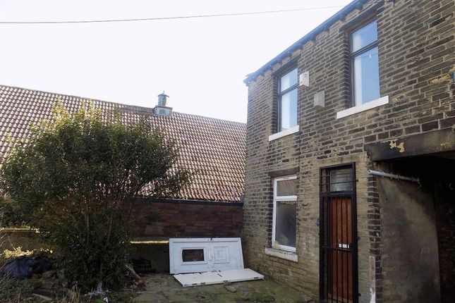 External of Todd Terrace, Great Horton, Bradford BD7