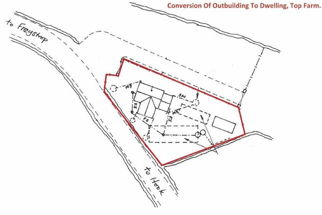 Thumbnail Land for sale in New Road, Freystrop, Haverfordwest