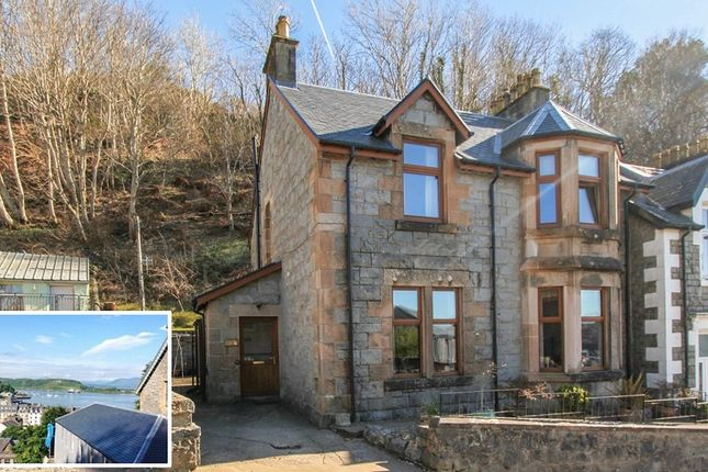 Thumbnail End terrace house for sale in Rockfield Road, Oban