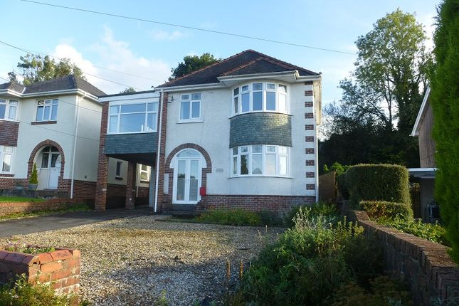 Thumbnail Detached house for sale in Pontamman Road, Ammanford, Carmarthenshire.