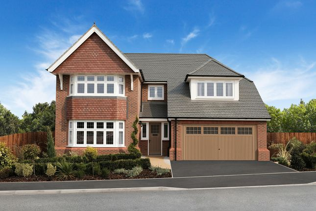 Thumbnail Detached house for sale in Hamilton Park, Off Bryony Road, Leicester, Leicestershire